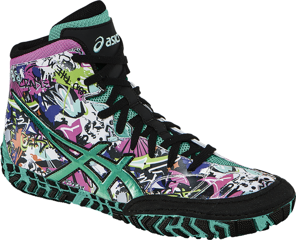 NEW! ASICS� Aggressor� 2 LE Graffiti Wrestling ** Color: (9964)